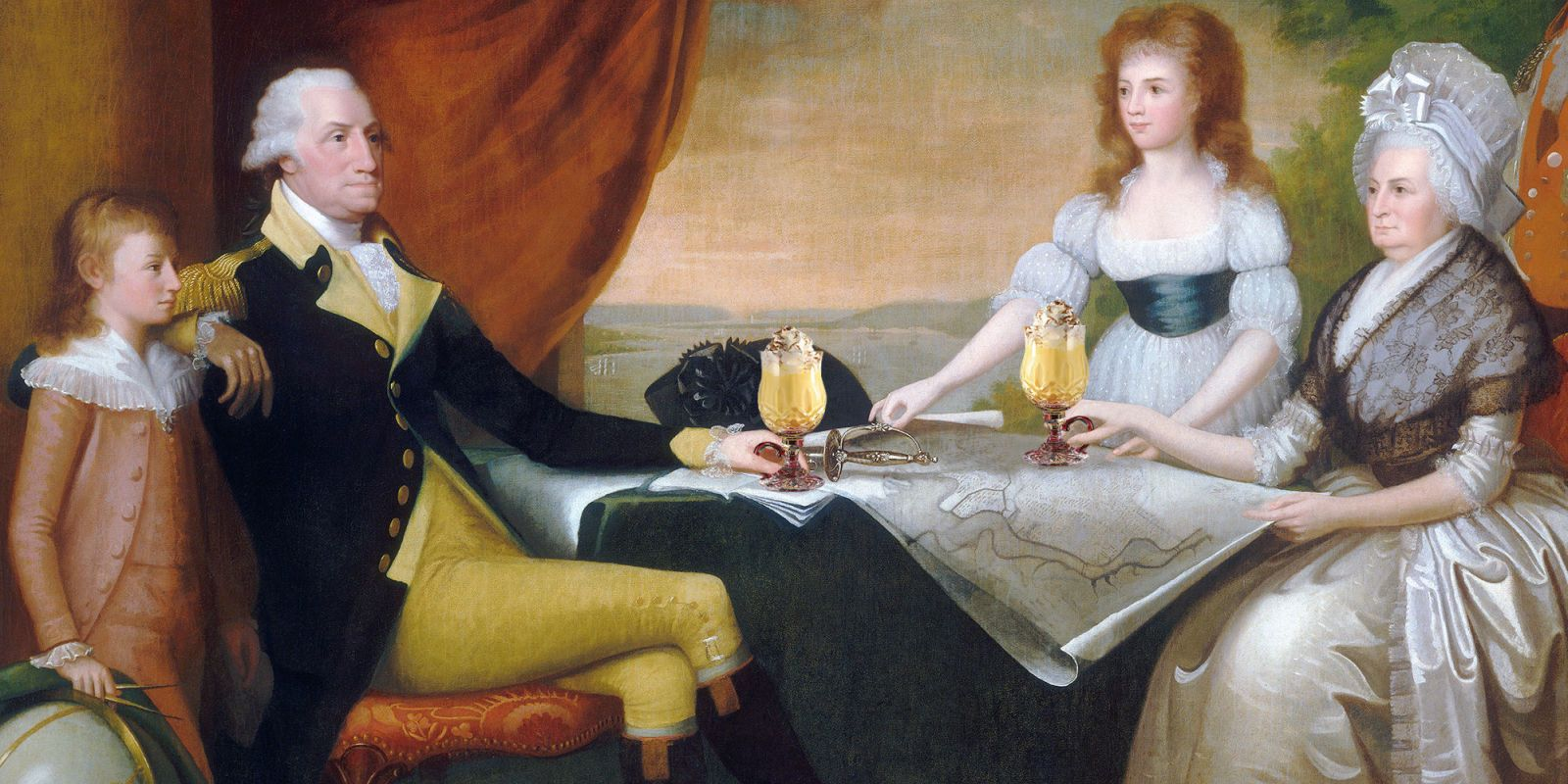 Don't Give Up on Eggnog Until You Try George Washington's Recipe