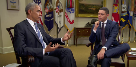 President Obama Got Real About Russia in His Final Late-Night Interview