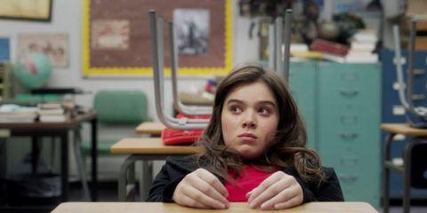 Finger, Room, Picture frame, Eyelash, Long hair, Nail, Classroom, Brown hair, Student, Education,