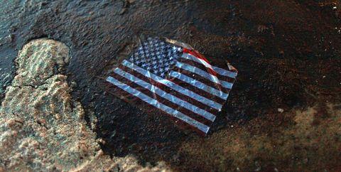 Flag of the united states, Carmine, Flag,