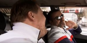 George Michael with James Corden in first ever Carpool Karaoke
