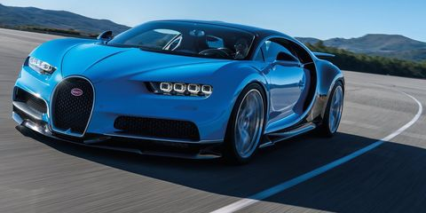 "<p>It's not nearly as groundbreaking as its predecessor, the Veyron. But <a href=""http://www.roadandtrack.com/car-shows/geneva-auto-show/news/a28325/bugatti-chiron-revealed/"" target=""_blank"" data-tracking-id=""recirc-text-link"">with 1500 horsepower</a> and <a href=""http://www.roadandtrack.com/new-cars/future-cars/news/a30737/bugatti-will-remove-your-chirons-speed-limiter-if-you-want-to-do-285-mph/"" target=""_blank"" data-tracking-id=""recirc-text-link"">a possible 285-mph top speed</a>, we still desperately want to drive the Chiron. Plus, we've been told it's set up for ""<a href=""http://www.roadandtrack.com/new-cars/future-cars/news/a30786/bugatti-chiron-oversteer/"" target=""_blank"" data-tracking-id=""recirc-text-link"">easy drifts</a>."" Who wouldn't want to drift a multi-million-dollar supercar?</p>"