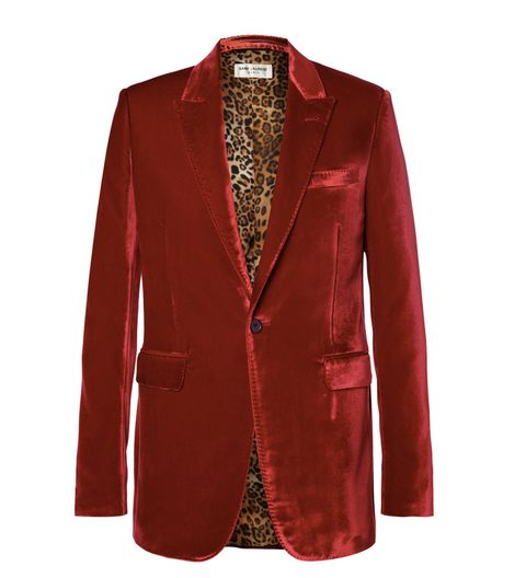 Clothing, Collar, Sleeve, Coat, Textile, Red, Outerwear, Formal wear, Blazer, Maroon,