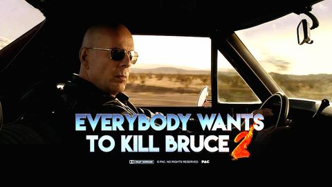 Tom Hardy, Brad Pitt, and Iron Man All Want to Kill Bruce Willis In This Mashup Action Film