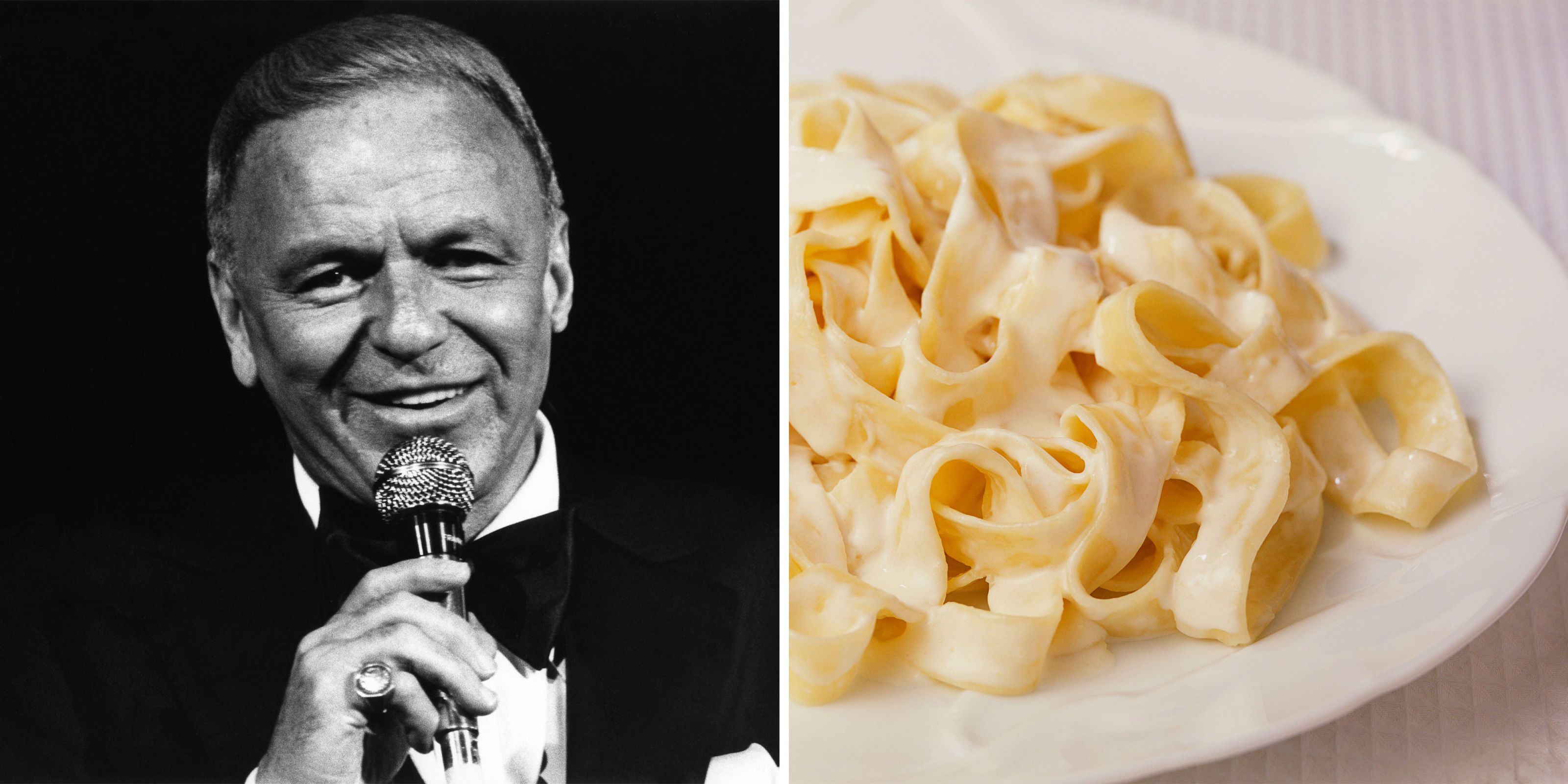 Frank Sinatra's Fettuccine Recipe Is the Perfect Dinner Dish