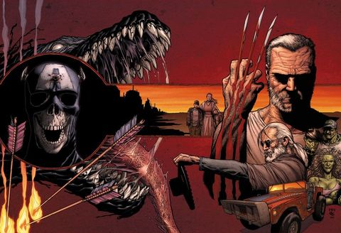 "<p>Imagine Wolverine from X-Men thrust into a world not unlike <em>Mad Max </em>and you have the basic premise of <em>Old Man Logan, </em><span class=""redactor-invisible-space"">debuting as an ongoing series in January. Set in a world where many of the Marvel heroes we know and love are dead, it's an alternate universe take on a beloved hero. </span></p>"