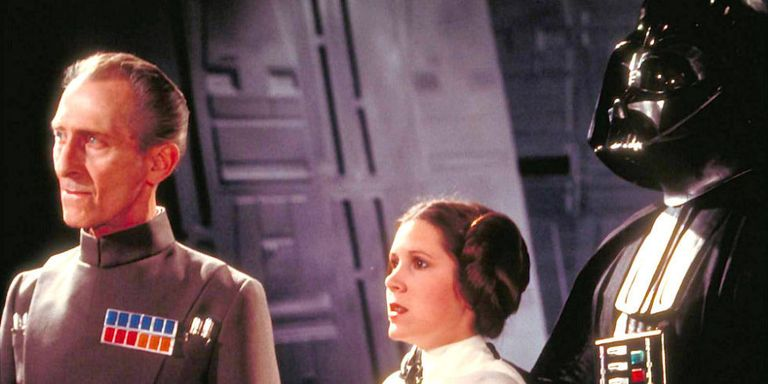How Rogue One Recreated Peter Cushing Carrie Fisher See Two CGI - Scenes original star wars created cgi
