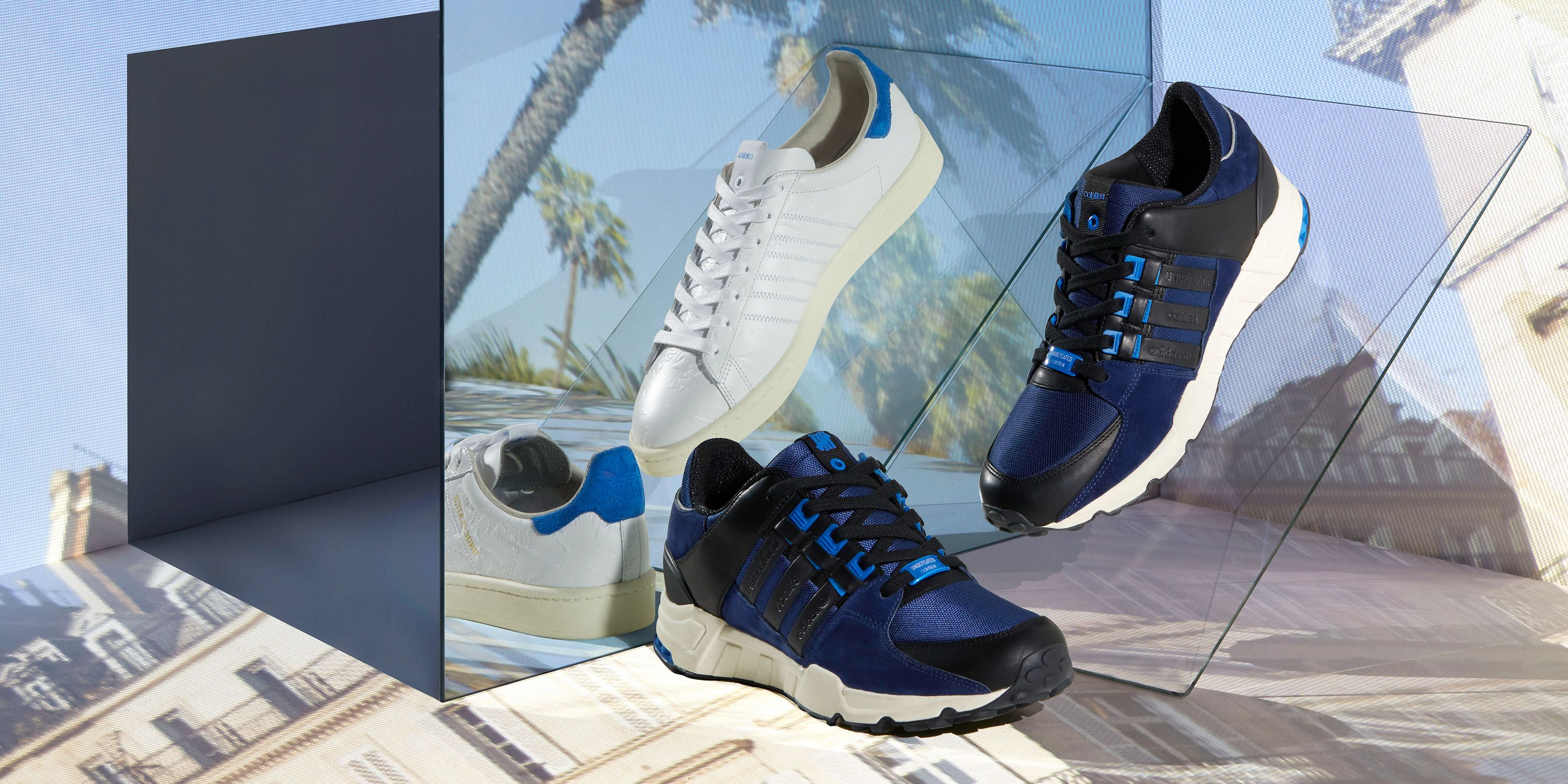 new products 75b4f db0bc Adidas Consortium Colette x Undefeated Sneakers - Where to Buy the Adidas  EQT Support and Campus 80