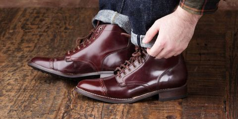 Affordable Shell Cordovan Boots Thursday Boots Shell