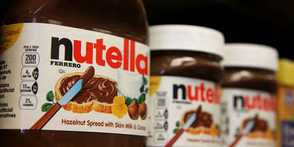 Here's What Really Goes into Nutella
