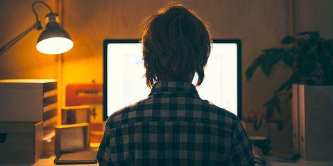 Light fixture, Back, Display device, Computer, Job, Lamp, Ceiling fixture, Service, Multimedia, Houseplant,
