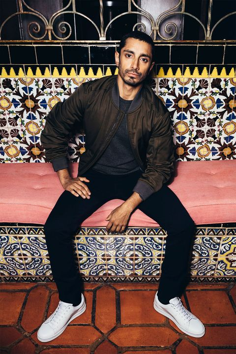 "<p>Riz Ahmed went&nbsp;from vaguely familiar face to leading man in the course of one dizzying year with 2016's <em data-redactor-tag=""em"" data-verified=""redactor"">Bourne, The Night Of,</em> and <em data-redactor-tag=""em"" data-verified=""redactor"">Rogue One: A Star Wars Story</em>. But he's been making waves for a while; in 2006, his satirical song ""Post 9/11 Blues"" was banned from British airwaves, and in 2014 he wrote and directed the&nbsp;short film <em data-redactor-tag=""em"" data-verified=""redactor"">Daytimer</em>, which draws from his own experience ""code-switching between a traditional Pakistani household, a predominantly white upper-middle-class private school where I was on scholarship, and cutting class to go hang out on the streets.""&nbsp;<em data-redactor-tag=""em"" data-verified=""redactor"">Jacket, T-shirt, jeans, and shoes by <a href=""https://www.hugoboss.com/us/mens-new-arrivals_boss/"" target=""_blank"" data-tracking-id=""recirc-text-link"">Boss</a>.</em></p>"