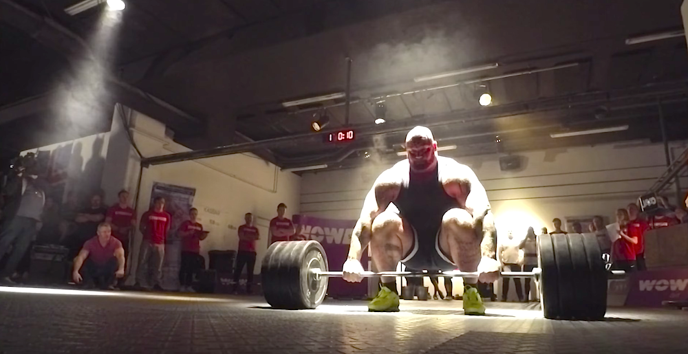 This Is Why You Don't Invite The Mountain to Your Crossfit Competition