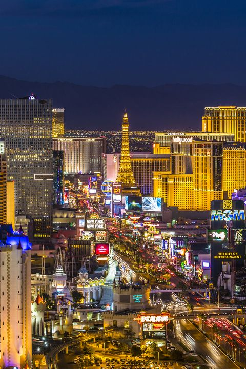 <p>A visit to Vegas isn't complete without walking The Strip. Rolling solo means you can cover some serious ground and let your feet guide you towards whatever catches your eye. Throw a few dice, enjoy a drink al fresco, and enjoy the view.</p>