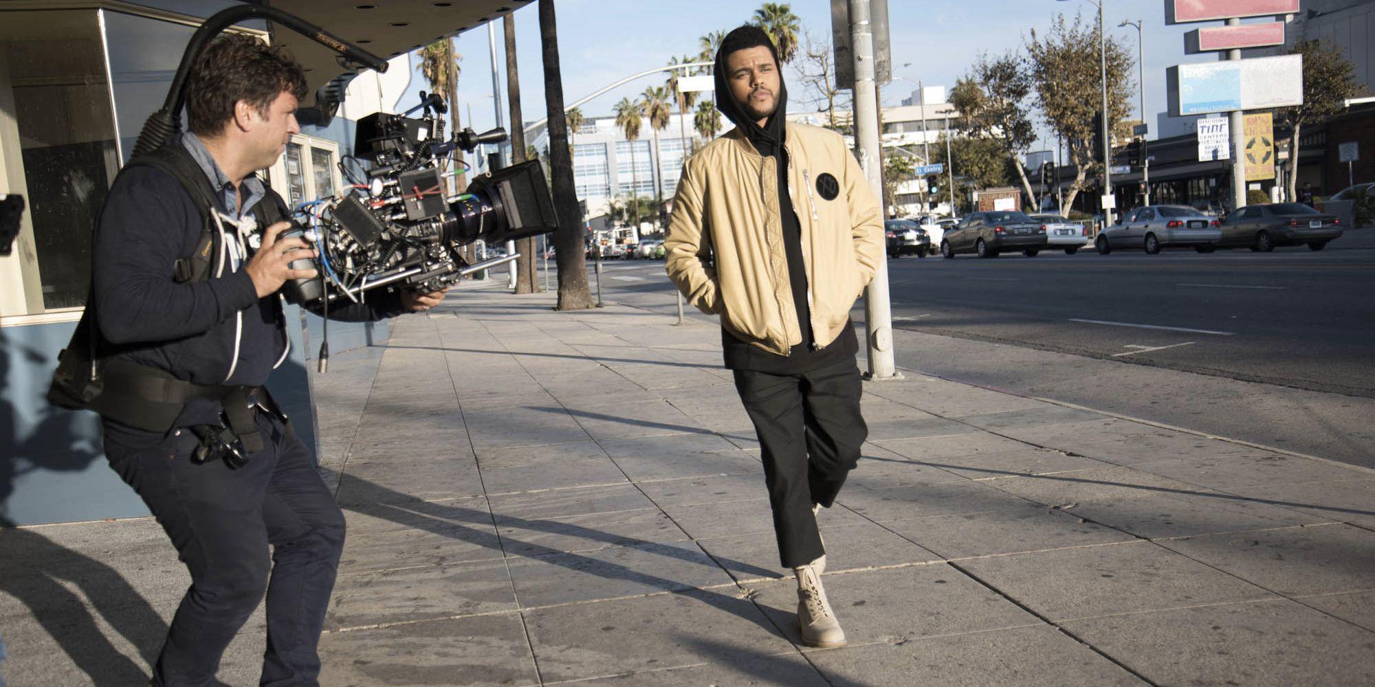 The Weeknd designt für