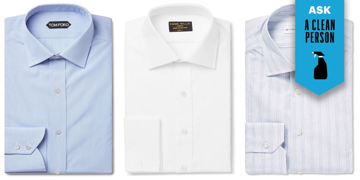 How To Skip The Dry Cleaner And Wash Your Dress Shirts At Home