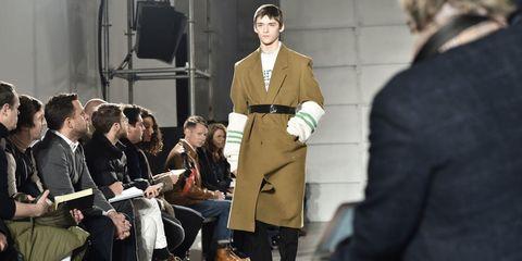 Collar, Coat, Formal wear, Dress shirt, Blazer, Suit trousers, Pocket, White-collar worker, Overcoat, Fashion design,