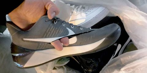 Shoe, White, Light, Black, Grey, Synthetic rubber, Walking shoe, Silver, Carbon, Tennis shoe,