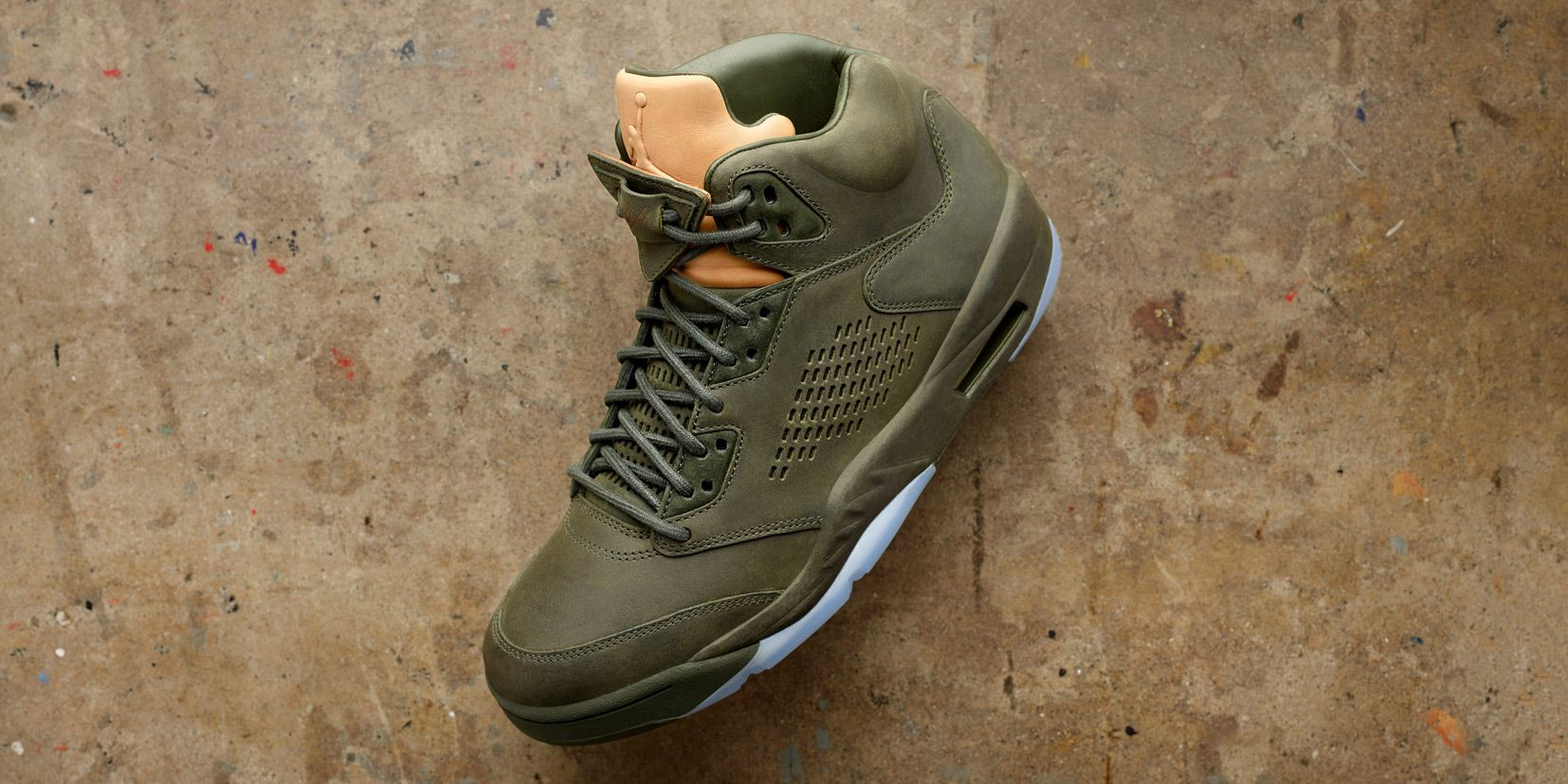 3c157f06e4c coupon for jordan brand completes its take flight trio with all leather  jordan 5s. youre