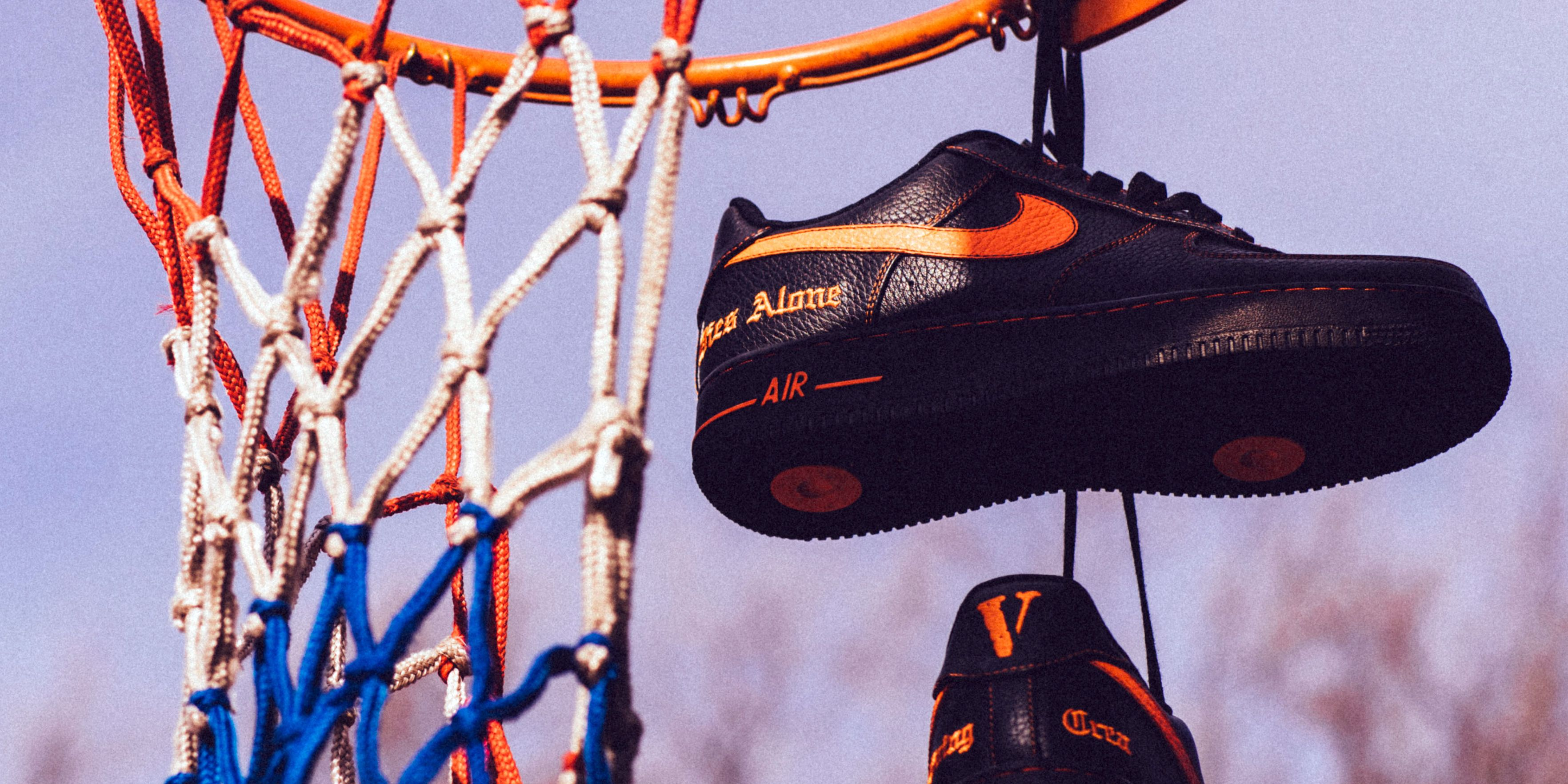 with Nike Air Force Bari Collab A New on VLONE's 1 AP zVpGqUMS