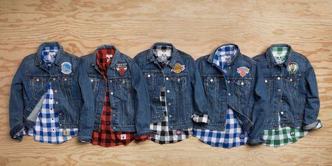 Blue, Dress shirt, Plaid, Collar, Sleeve, Pattern, Tartan, Textile, Uniform, Fashion,
