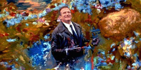 Formal wear, Art, Paint, Blazer, Tie, Artwork, Art paint, Modern art, Painting, Watercolor paint,