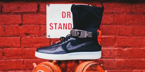 competitive price 4ea27 c2eab Where to Buy the Nike Acronym Air Force 1 Downtown - Nike x