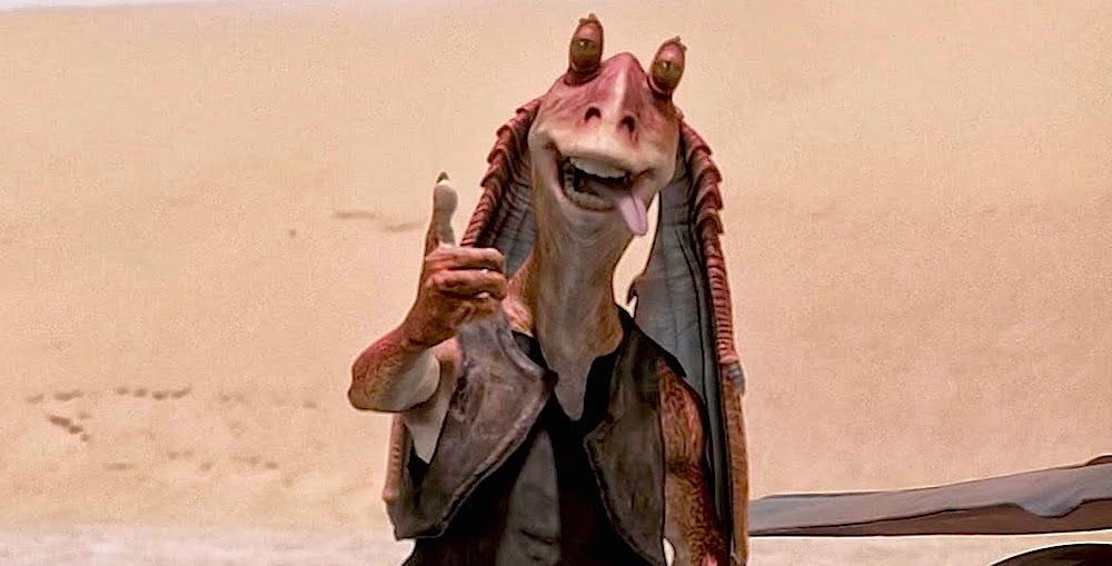 Jar Jar Binks After Star Wars Episode 3 The Actor Is Happy With The Character S Depressing Fate