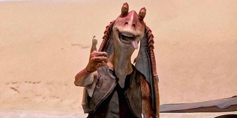 Jar Jar Binks After Star Wars Episode 3 - The Actor Is Happy With ...