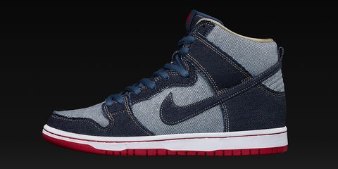 "<p><span class=""redactor-invisible-space"" data-redactor-tag=""span"" data-redactor-class=""redactor-invisible-space"" data-verified=""redactor"">It's debatable, but we're willing to say that the golden age of Nike's SB Dunk program was in the mid-2000s. It started in earnest with Jeff Staple's Pigeon Dunk in 2005, and covered dozens of incredible releases over just a few years, including the Reese Forbes Denims. This week, the highly coveted sneaker sees a reissue in the Dunk Hi, making for a shoe that has the same DNA but casts a different shadow. It's history—just slightly different.<span class=""redactor-invisible-space""></span><br></span></p><p><span class=""redactor-invisible-space"" data-redactor-tag=""span"" data-redactor-class=""redactor-invisible-space"" data-verified=""redactor""><strong data-redactor-tag=""strong"" data-verified=""redactor"">Release: </strong>2/23</span></p><p><em data-redactor-tag=""em"" data-verified=""redactor"">$110, <a href=""https://www.nike.com/launch/t/sb-dunk-hi-og-reese-denim"" data-tracking-id=""recirc-text-link"" target=""_blank"">nike.com</a></em><span class=""redactor-invisible-space""><em data-redactor-tag=""em"" data-verified=""redactor""></em></span></p>"