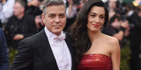 Amal Clooney Will Be 'Avoiding Places She Knows She's Not Welcome' During Her Pregnancy