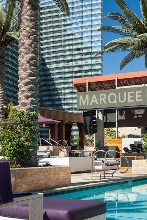 "<p>Forget playing by the rules when you're in Vegas: Happy hour is always now,&nbsp;and the best place to get started is under the sun.&nbsp;<a href=""https://www.cosmopolitanlasvegas.com/"" target=""_blank"" data-tracking-id=""recirc-text-link"">The Cosmopolitan's</a> <a href=""http://marqueelasvegas.com/Dayclub-Information"" target=""_blank"" data-tracking-id=""recirc-text-link"">Marquee Dayclub Pool</a> brings the party vibes of the club outside for a unique&nbsp;experience that's one part turn-up, one part sunbathing, and zero parts judgement. You're solo, after all.&nbsp;</p>"