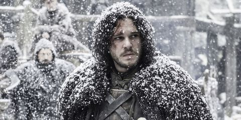 Winter, Facial hair, Freezing, People in nature, Snow, Black hair, Street fashion, Beard, Precipitation, Winter storm,