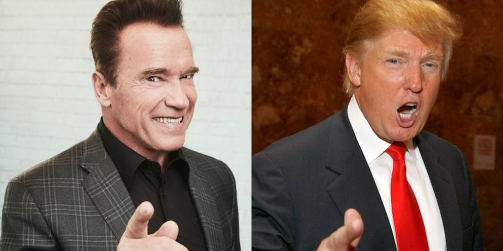 Arnold Schwarzenegger Just Won His Feud With Donald Trump