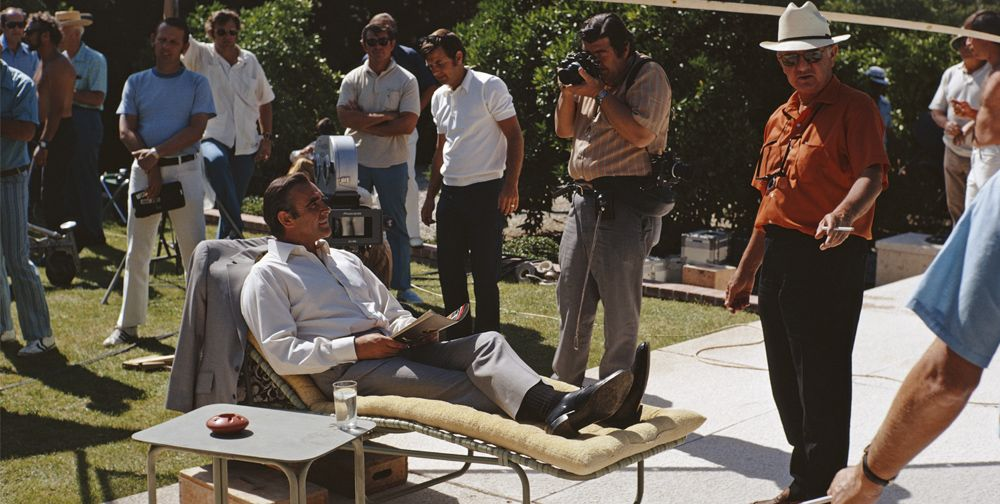 46 of the Coolest Set Photos in Movie History