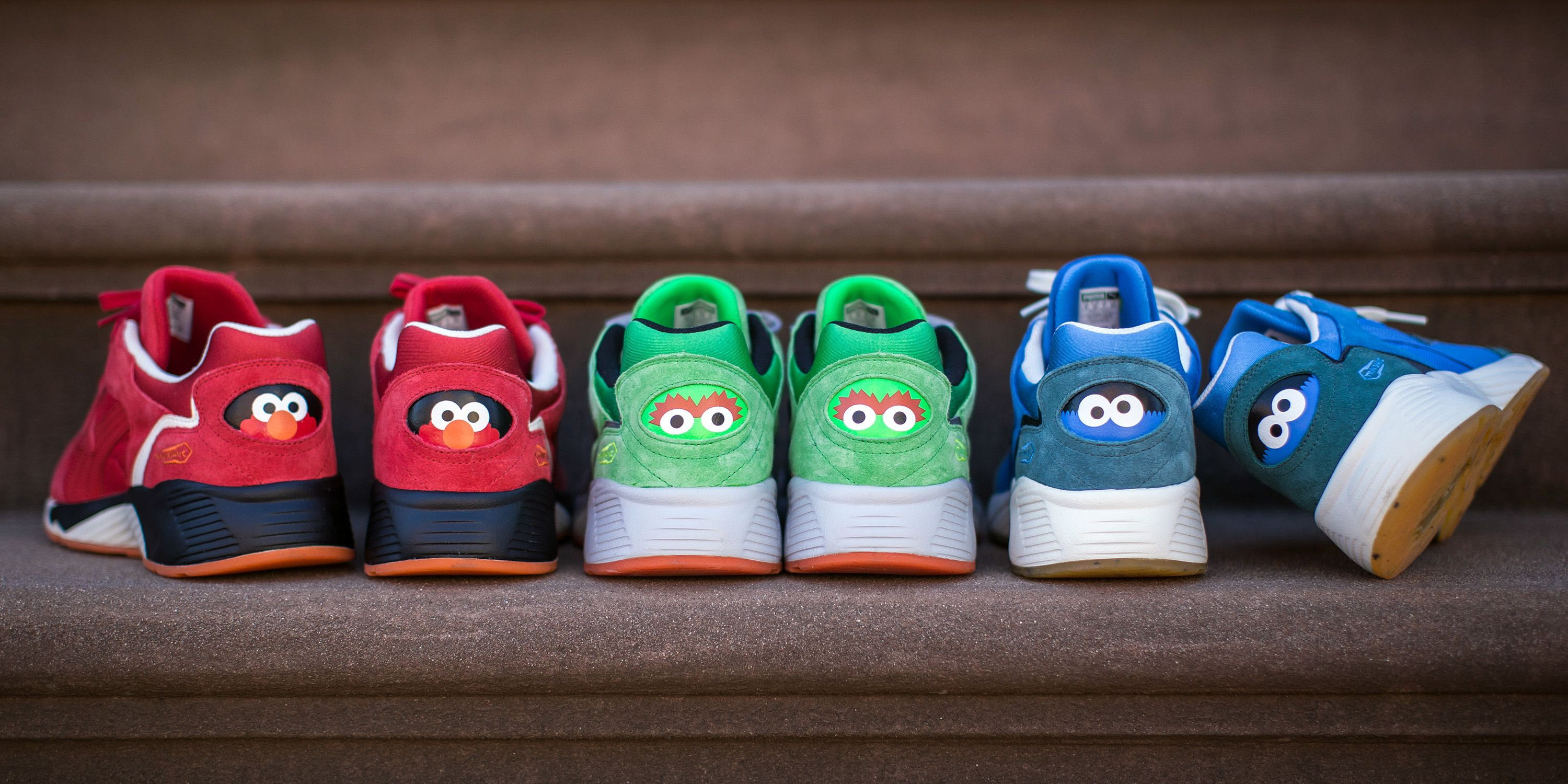 d129951ad68 Puma x Sesame Street Sneaker Collaboration - Your Inner Child Is ...