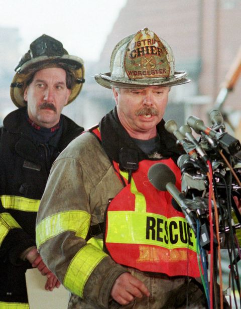 The Perfect Fire - The Story of the Worcester Fire and the
