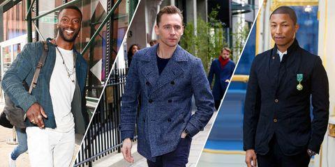 Face, Dress shirt, Sleeve, Trousers, Collar, Shirt, Standing, Coat, Formal wear, Blazer,