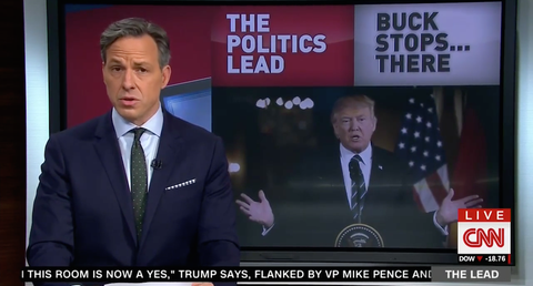Jake Tapper Went All in on Trump's 'Embarrassment' of a Wiretap Claim
