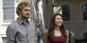 Finn Jones and Jessica Henwick in Marvel's Iron Fist