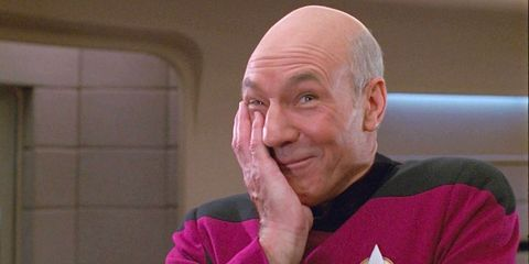 Patrick Stewart Is Probably High Right Now