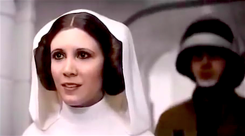 this actress secretly played princess leia in rogue one