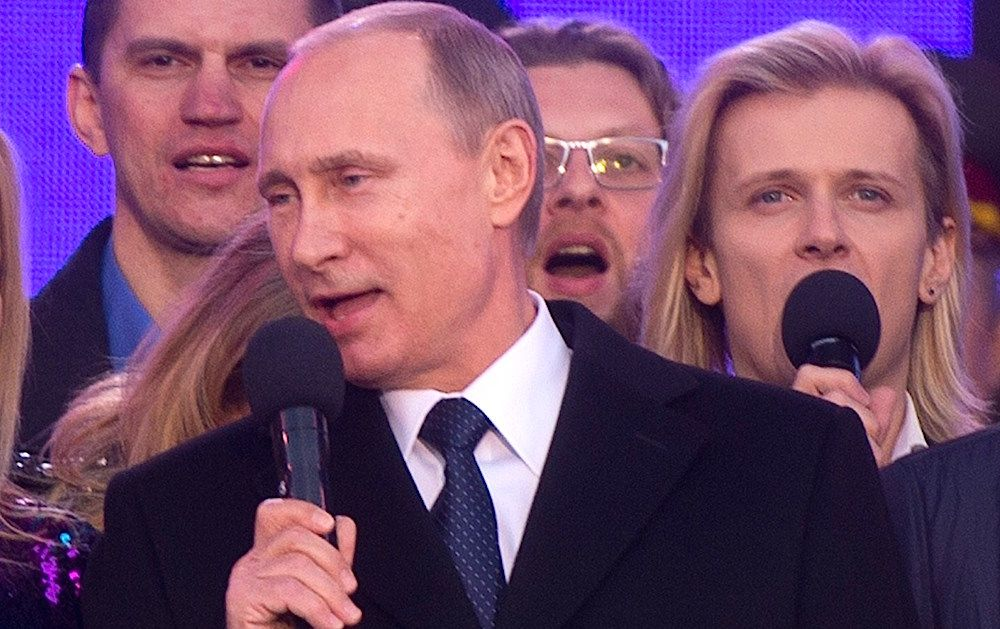 Vladimir Putin Sings Radiohead Video Watch Vladimir Putin Sing Radiohead S Creep
