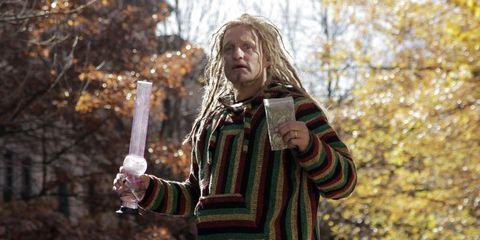 Woody Harrelson marijuana sketch