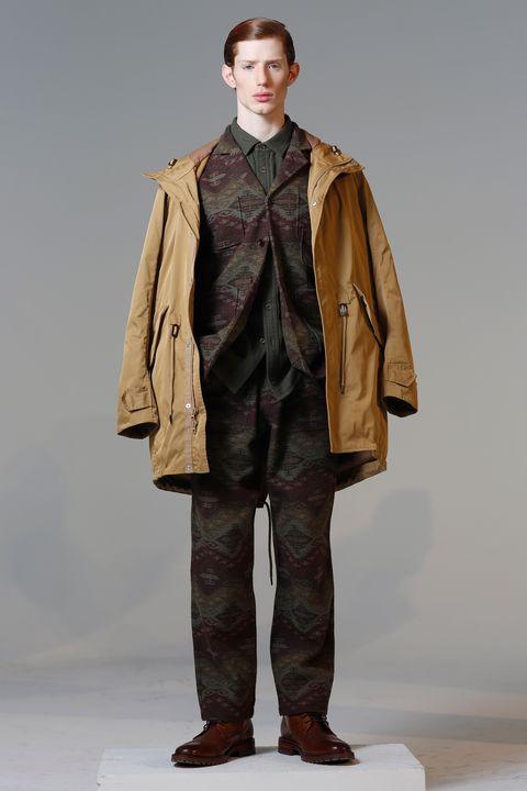 Clothing, Outerwear, Fashion, Overcoat, Fashion model, Fashion show, Coat, Human, Jacket, Fashion design,