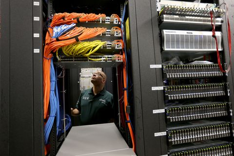 Jacket, Computer cluster, Server, Engineering, Machine, Electrical supply,