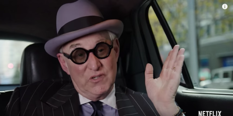 Netflix S Roger Stone Documentary Trailer Signals His Ties To Trump