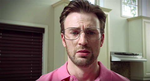 Playing a Pathetic Nobody Is the Biggest Challenge of Chris Evans's Career