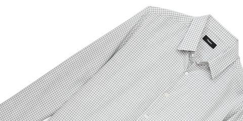 Shirt, Dress shirt, Collar, Pattern, Design, Sleeve, Architecture, Mesh, Pattern,