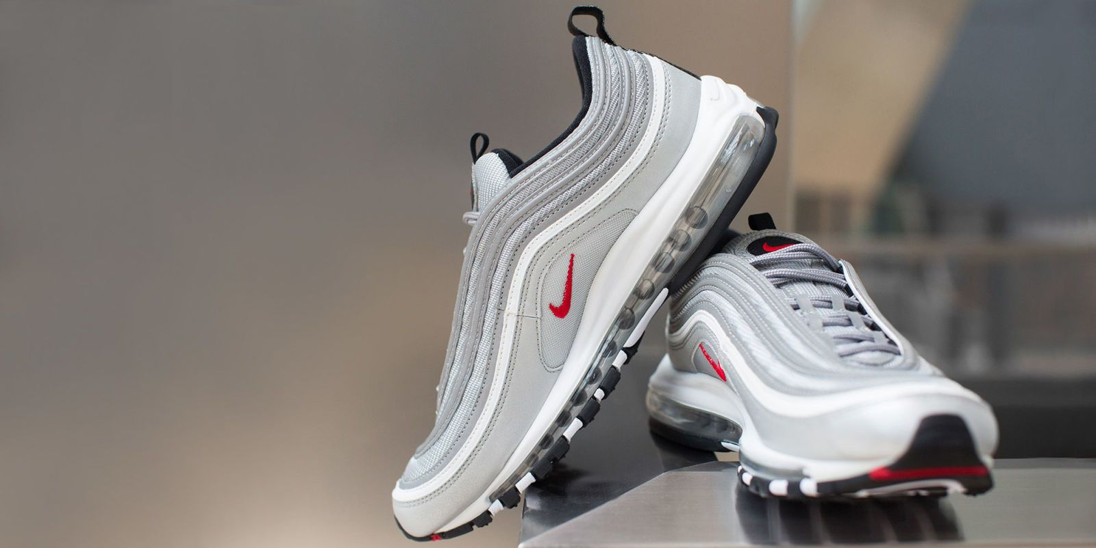 Cheap Nike Air Max 97 Premium 'Thunder Blue & Dark Obsidian'